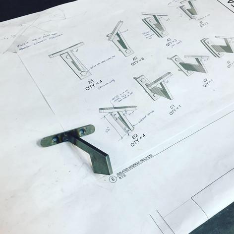 Handrail Hardware
