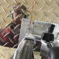 Cutting DIamond Plate