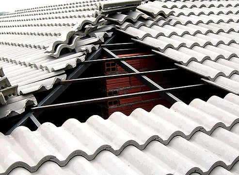 telhado colonial de ferro em bh