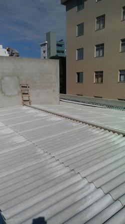 telhado embutido