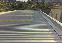 telhado galvanizado contruido no bairro coqueiros em bh