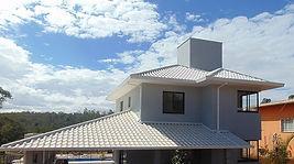 telhado colonial branco telhas esmaltadas em lagoa santa