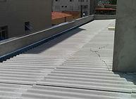 telhado de fibrocimento construido em contagem