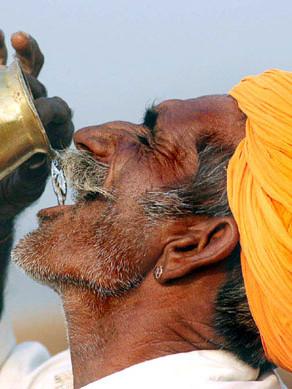 El arte de beber agua