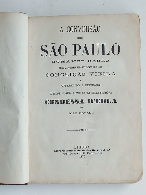 A conversão de são paulo / josé romano