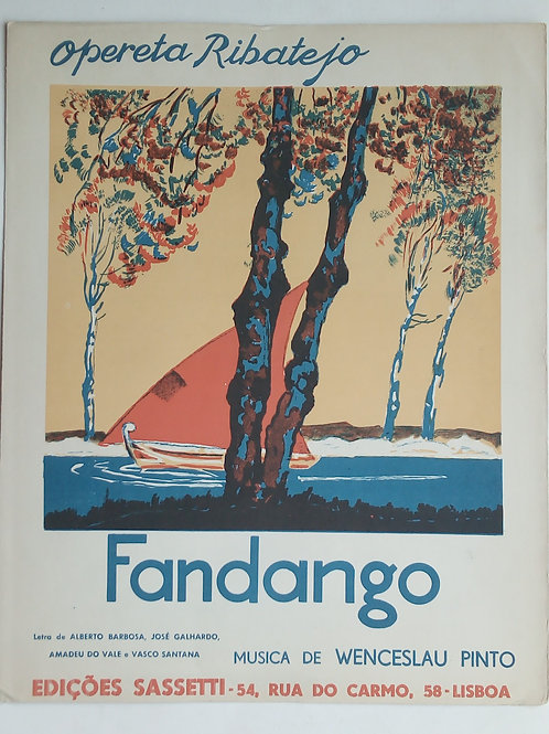 opereta ribatejo fandango / wenceslau pinto