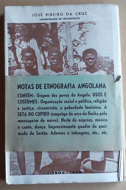 notas de etnografia angolana / José ribeiro da cruz