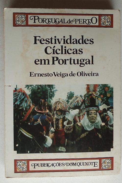 festividades cíclicas em Portugal / Ernesto veiga de oliveira