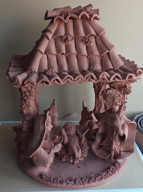 José luís escultura em barro presépio / mafra