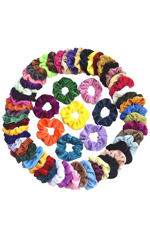 Set of 6 Hair Scrunchies
