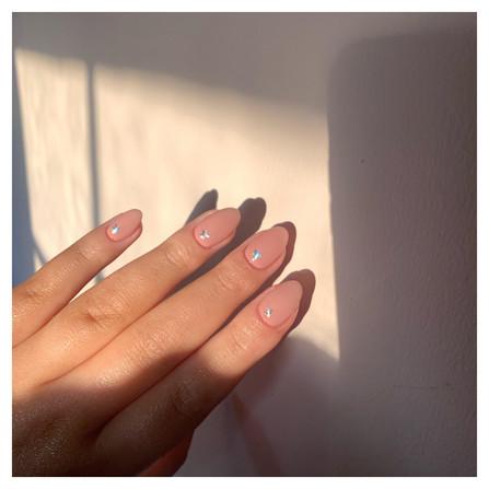 Pretty Starry Nails