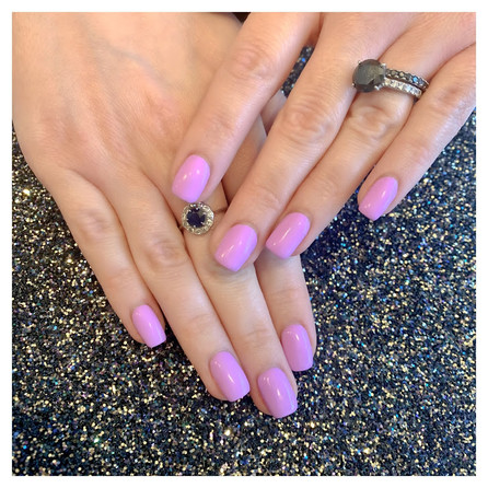 Lovely Lilac Nails