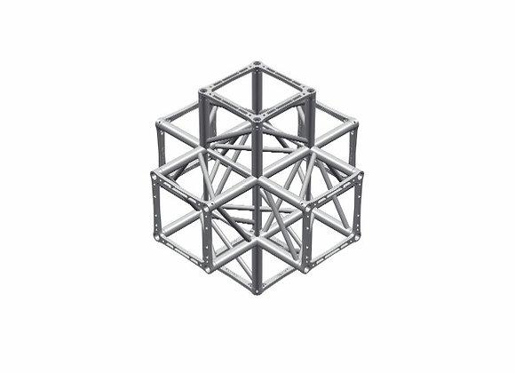 Ферма квадратная 40см шестисторонний блок