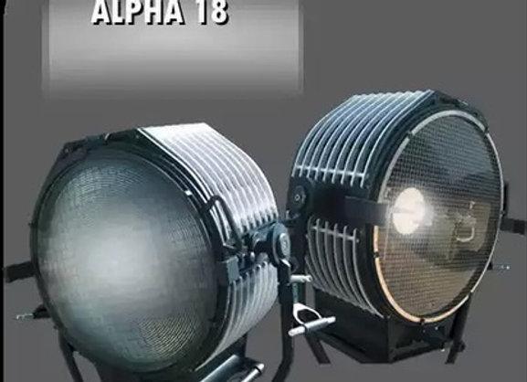 Прожектор линзовый ALPHA HMI 18 kW