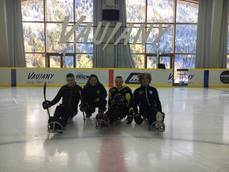 Du para-hockey chez les Grizzlys !