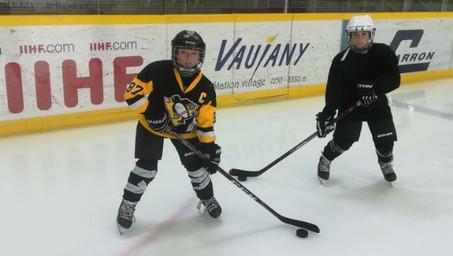 Les Grizzlys lancent leur classe Sport hockey-sur-glace !