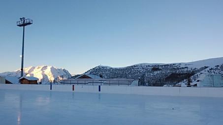 Les Grizzlys prennent un bol d'air chez les Yétis de l'Alpe d'Huez