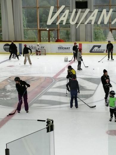 Les parents sur la glace !