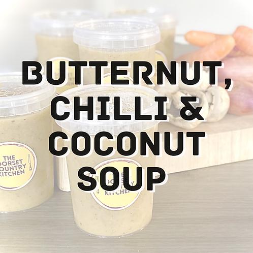 Butternut, Chilli & Coconut soup