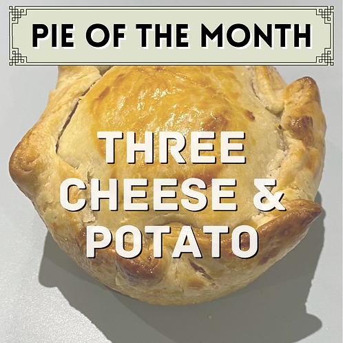 Three Cheese & Potato Pie