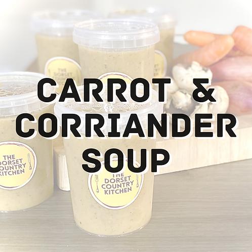 Carrot & Coriander soup