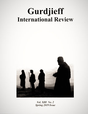 Gurdjieff International Review / Vol. XIII, No. 3: Pupils of Gurdjieff