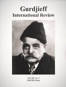 Gurdjieff International Review / Vol. XII, No. 1: Attention