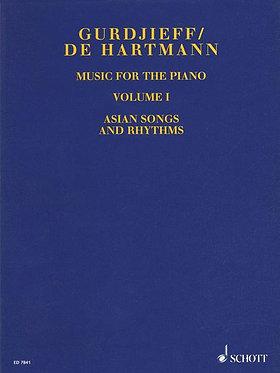 GURDJIEFF/DE HARTMANN Music for the Piano, Volume I