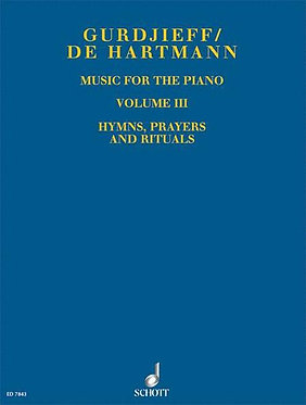 GURDJIEFF/DE HARTMANN Music for the Piano, Volume III
