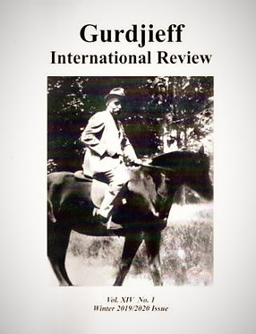 Gurdjieff International Review/Vol. XIV, No. 1: Nature