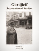Gurdjieff International Review / Vol. IX, No. 1: The Material Question