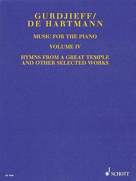 GURDJIEFF/DE HARTMANN Music for the Piano, Volume IV