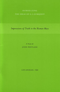 JOHN PENTLAND Impressions of Truth in the Human Mass, Los Angeles, 1960