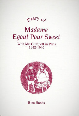 RINA HANDS Diary of Madame Egout Pour Sweet