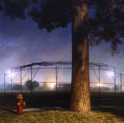 Behind A Ball Field