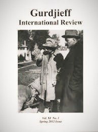 Gurdjieff International Review / Vol. XI, No. 1: The Oral Tradition