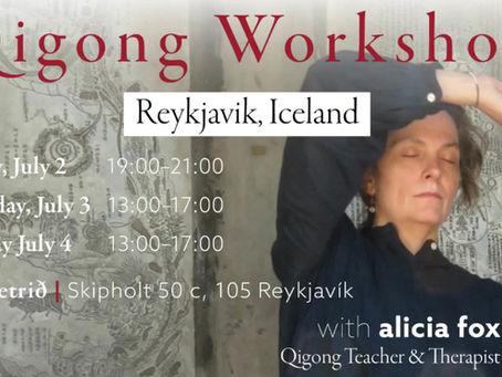 Qigong Workshop in Iceland July 2021