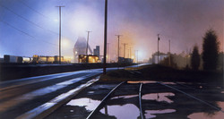 Landscape With Poles and Puddles