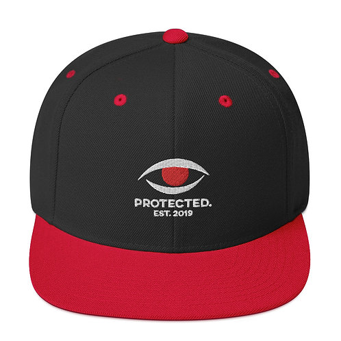 Protected. Black/Red Snapback Hat