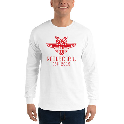 Protected. Men's Long Sleeve Shirt