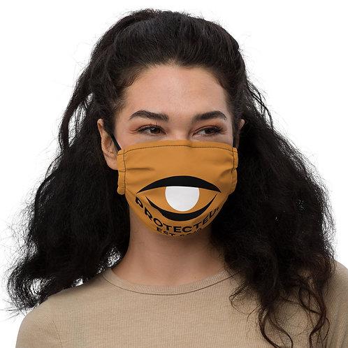 Protected. Premium Face Mask Bronze