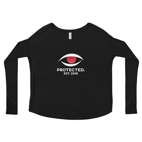 Protected. Ladies' Long Sleeve Tee