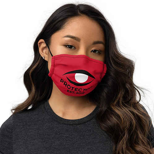 Protected. Premium face mask