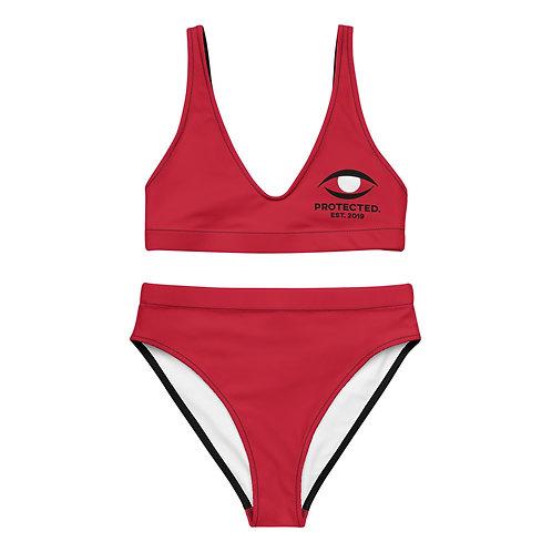 Protected. High-Waisted Bikini