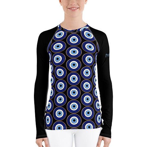 Evil Eye Protected. Women's Long Sleeve Shirt