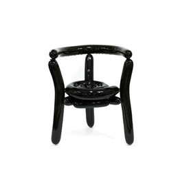 Blowing Series - Black Chair