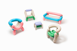 Blowing Series - Multicolor Chair For Kids