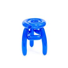 Blowing Series - Blue Stool
