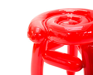 Blowing Series - Red Stool