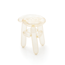 Blowing Series - Clear Stool